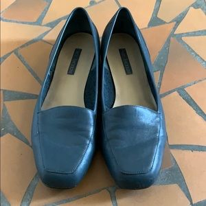 Enzo Angiolini blue leather flats loafers 10.5